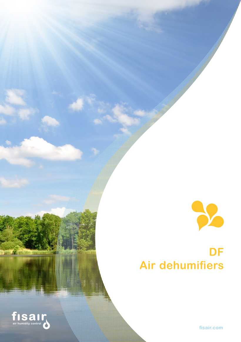 DF Air dehumifiers catalog | Fisair | Air Dehumidifiers