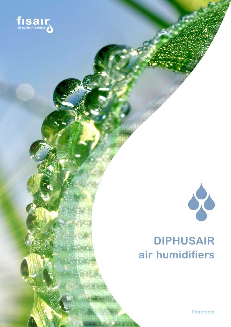 Diphusair air humidifiers catalog | Fisair