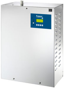 Isothermal self-producer steam humidifiers by submerged electrodes   Fisair