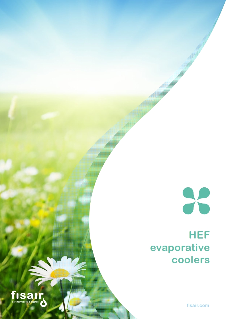 HEF evaporative cooler catalogue | Fisair