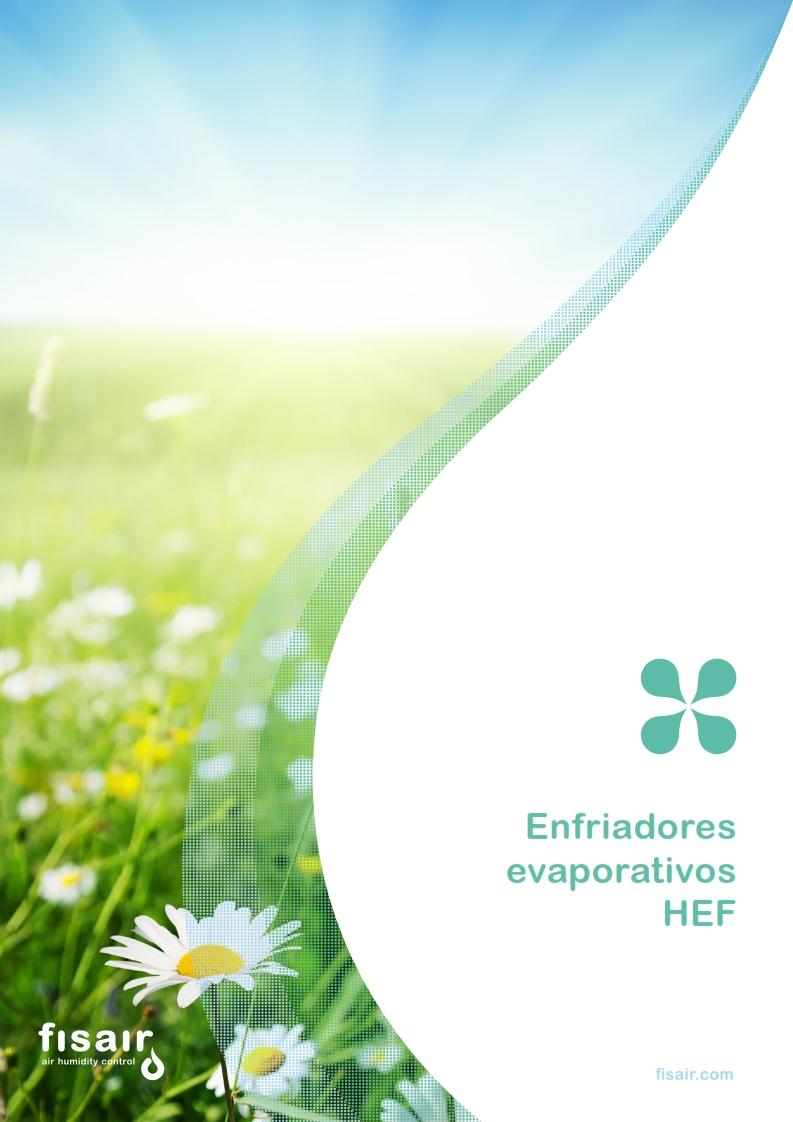 Imagen de guía de enfriadores evaporativos HEF | Fisair
