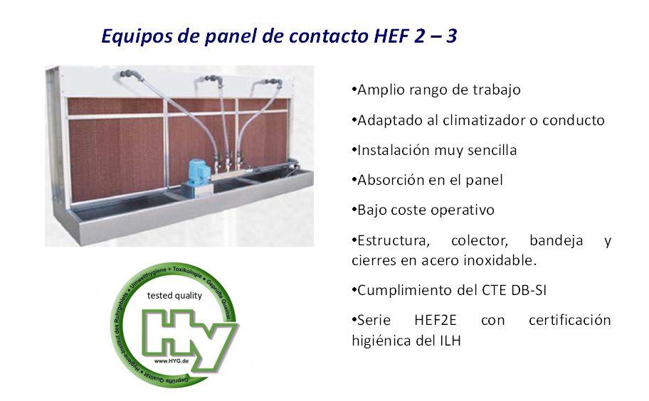 Imagen de equipo de panel de contacto HEF 2-3 | Foto de Fisair