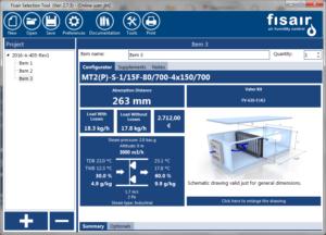 Fisair selection tool | Fisair