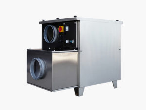 DFRD air dehumidifiers picture | Air dehumidifiers with deseccant rotor | Fisair