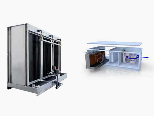 Contact Panel Evaporative Humidifiers   Fisair