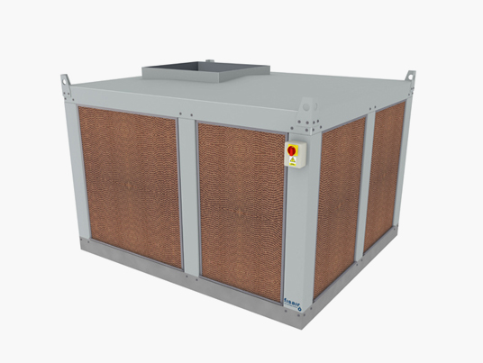 Cellular panel evaporative coolers | Fisair's Photos