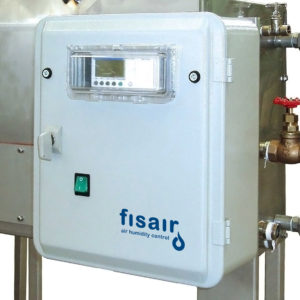 Superheated water heat exchange humidification system | Fisair