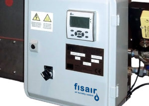 Boiler steam exchange humidification system | Fisair