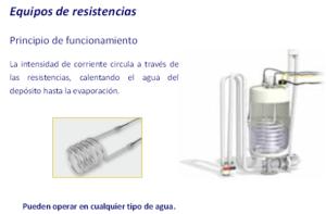 Equipo de humidificación isoterma por resistencia | Fisair