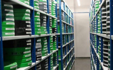 Lagerung und Herstellung von Filmen