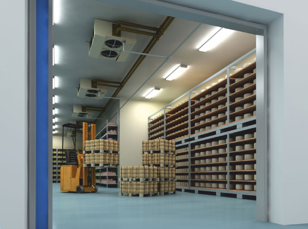 Humidity control in cold storage & Humidity control in cold storage and freezing processes | Fisair