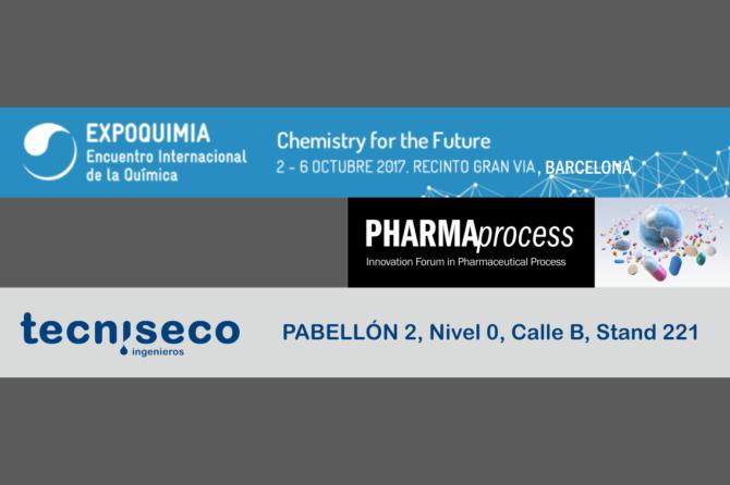 TECNISECO en Pharmaprocess 2017