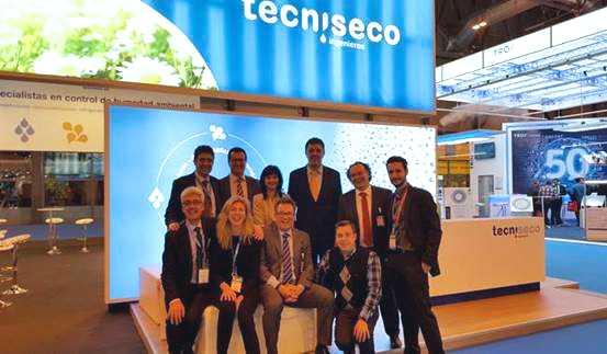 Éxito de TECNISECO en C&R 2017